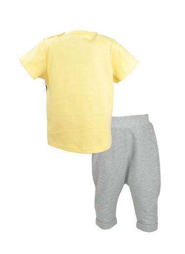 Mininio Sarı Lion T-Shirt ve şalvar Takım (3-18ay) Sarı Lion T-Shirt ve şalvar Takım (3-18ay) Sarı
